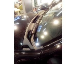 Накладка в проем стеклоочистителей (жабо) Renault Duster