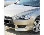 "Клыки на передний бампер ""Реплика"" на Mitsubishi Lancer X"
