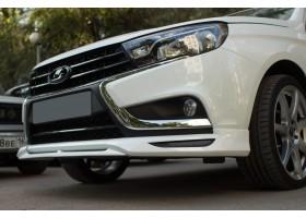 Lada Vesta Юбка переднего бампера