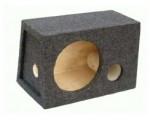 Короб 74 литра, под 15 дюймов, сабвуфер двойная передняя стенка, с фазоинвертором.