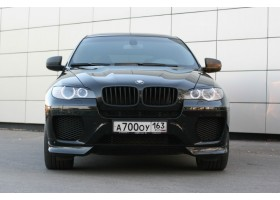Клыки переднего бампера на BMW-6 E-71