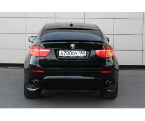 Клыки заднего бампера на BMW-6 E-71
