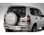 Накладки на задний бампер (Нерж) Chevrolet Niva Niagara 3