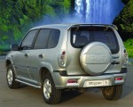 Накладки на задний бампер (Нерж) Chevrolet Niva Niagara