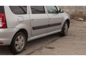 Lada Largus Пороги цельные с заходом под дверь