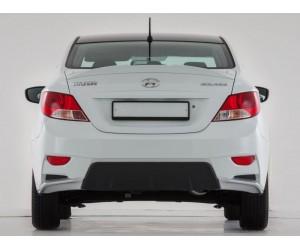 Бампер задний Hyundai Solaris YT-1