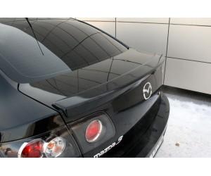 лип спойлер на Mazda 3