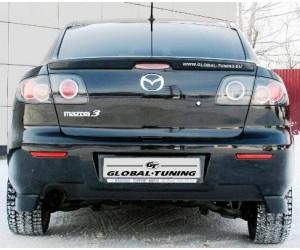 клыки заднего бампера на Mazda 3
