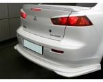 Лип спойлер на Mitsubishi Lancer X