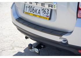Накладка на задний бампер Renault Duster