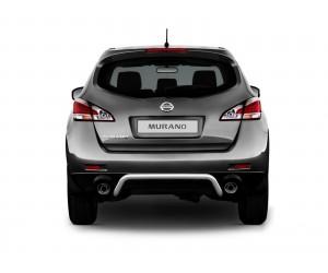 Защита заднего бампера Ø51мм Nissan Murano (нерж)