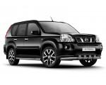 Защита порогов Ø63мм Nissan X-Trail (нерж)