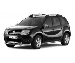 Защита порогов Ø63мм Renault DUSTER (покр)