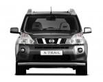 Защита переднего бампера одинарная Ø63мм Nissan X-Trail (нерж)