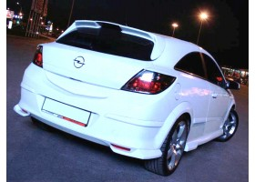клыки заднего бампера Opel 3Х дверный