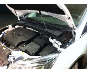 Упор капота Ford Focus 3 (2011).