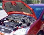 Упор капота Ford Focus C-MAX (2003-2010).