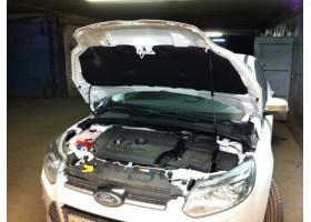 Упор капота Ford Focus 2-3 (2008- 2011)+кронштейн.