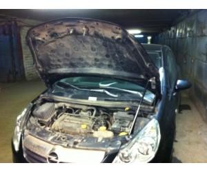 Упор капота Opel Corsa (2006-)
