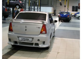 Спойлер Renault Logan power 2
