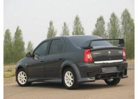 Пороги Приора Renault Logan Power DM (фаза 2)+
