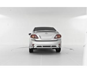 Накладка на задний бампер YT Toyota Corolla