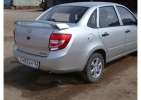 Спойлер на ВАЗ 2190 Гранта
