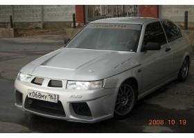 """Бампер передний ВАЗ 21123 Купе тюнинг """"AVR"""" (АВР)"""
