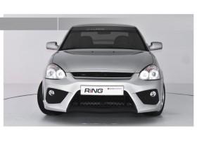 Тюнинг бампер передний Приора Ring-2 (купе)