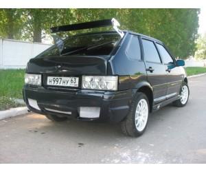 Пороги тюнинг V-MAX Sport на ВАЗ 2114, 2115
